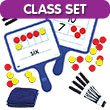 Magnetic Ten Frame & Part-Part-Whole Dry-Erase Paddles - Classroom Set