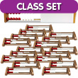 Two-Bar Rekenrek Classroom Set: Plastic