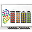 Jumbo Magnetic QuietShape® Foam Place Value Disks Classroom Set