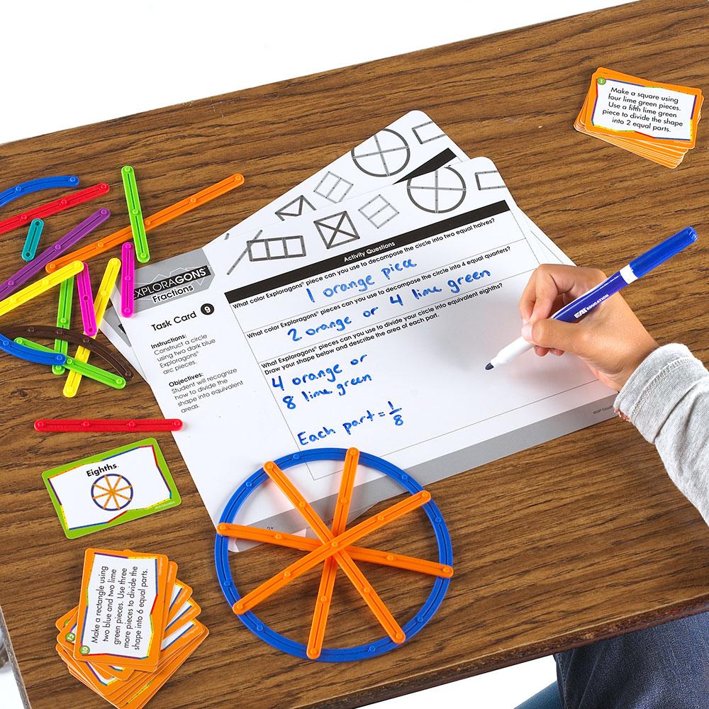 Exploragons� Fractions Teacher Set: Grades 2+  Web Exclusives  Eai  Education