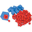 Fractional Volume Cubes - Set of 140