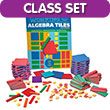 QuietShape® Foam Algebra Tiles Combination Classroom Kit