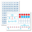 Numerical Fluency & 120 Chart Flexible Dry-Erase Boards - Set of 10