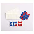 Ten Frame Trays with Two-Color Counters - Set of 4