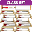 Two-Bar Rekenrek Classroom Set: Wooden