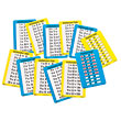 Dry-Erase Multiplication Table Cards 1-10