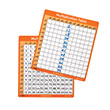 Dry-Erase Multiplication Tables 1-12: Set of 30