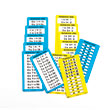 Dry-Erase Multiplication Table Cards 1-12