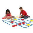 Jumbo Ten Frame Activity Mats with Counters