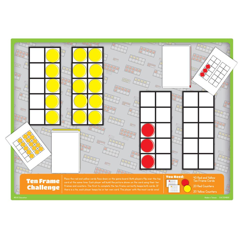 Math Standards Game - Grade K: Ten Frame Challenge - Building ...