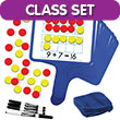 Magnetic Double Ten Frame & Part-Part-Whole Dry-Erase Paddles: Classroom Set