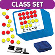 Magnetic Double Ten Frame & Part-Part-Whole Dry-Erase Boards: Classroom Set