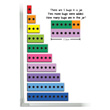 Jumbo Magnetic Visual Number Talks Bars - Set of 100