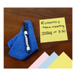 EAI® Education Reusable Dry-Erase Sticky Notes: Assorted Colors - Set of 12