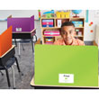 EAI® Education Privacy Boards: Assorted Colors - Set of 12