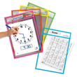 SmartPAL® Dry-Erase Sleeves: Assorted Colors - Set of 10