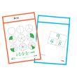 SmartPAL® Dry-Erase Sleeves: Assorted Colors - Set of 100