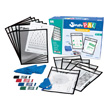 SmartPAL® Dry-Erase Sleeves Classroom Kit: Black