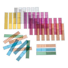 Transparent Fraction Bars®