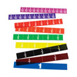 525088 - Transparent Fraction Strips
