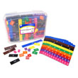 Fraction/Decimal Tiles without Tray - 15 Sets of 51 in Tub