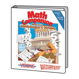 Math Companion: Multiplication & Division: Grades 3-4 - 25-Site License