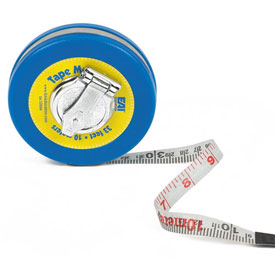Windup Metric Tape: 33'/10m