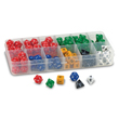 Polyhedra Dice Sampler - Set of 105 with Case