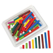 Cuisenaire® Rods: Wood: Introductory Set - Set of 74