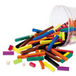 Cuisenaire® Rods: Wood - Set of 155