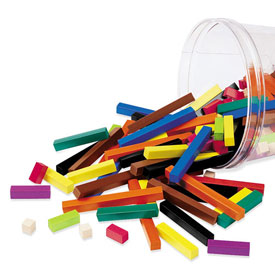 Cuisenaire® Rods: Plastic - Set of 155