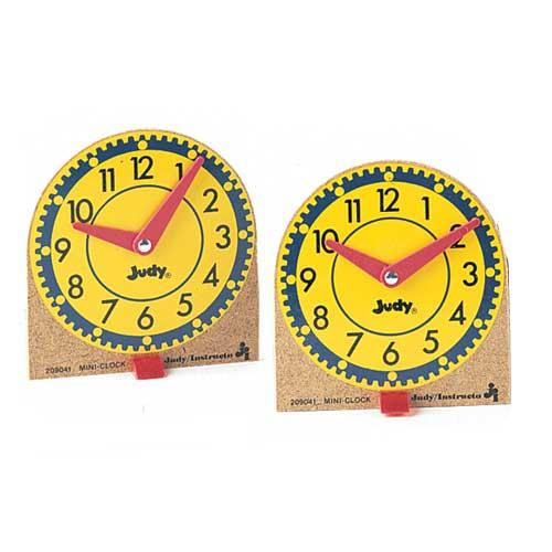 Original Mini Judy 174 Clock Set Of 12 Math Manipulatives