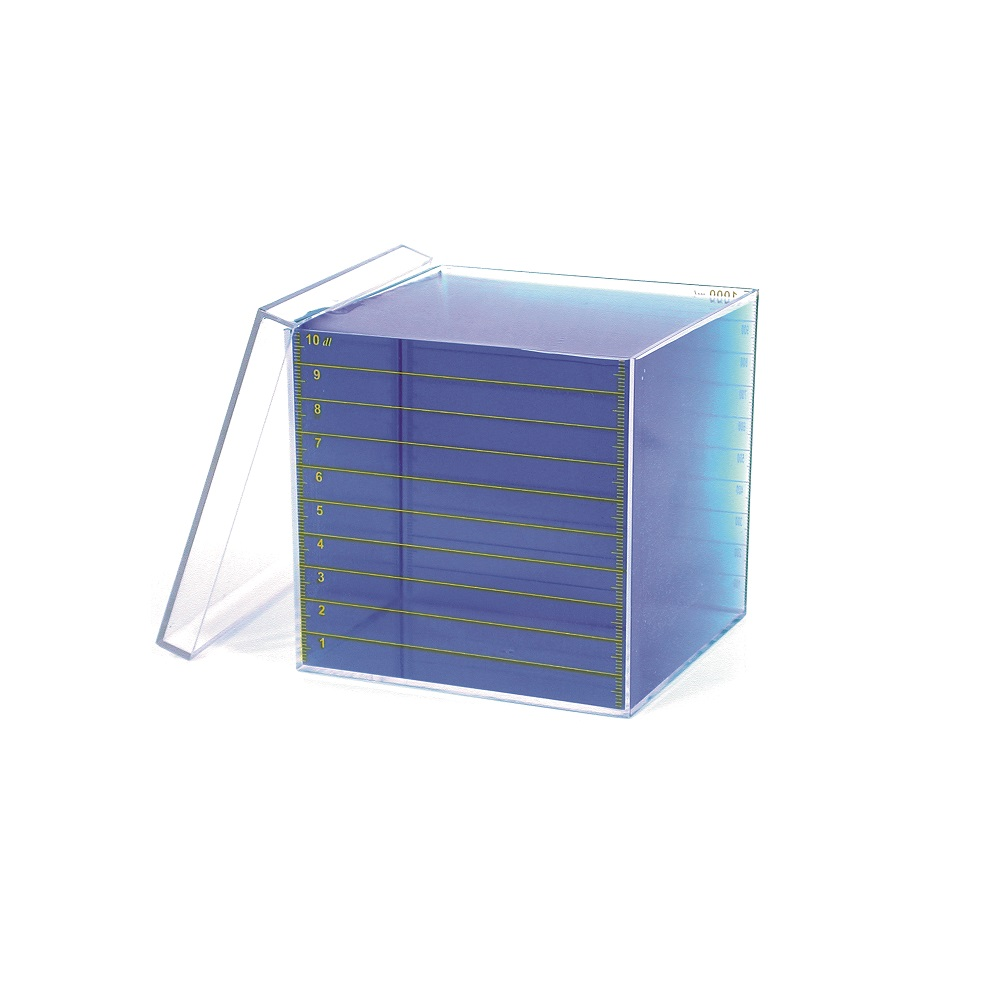 Liter Cube With Lid - Measurement & Data