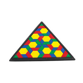 Triangular Pattern Blocks Tray