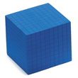 QuietShape® Foam Base Ten Thousand Cube: Blue