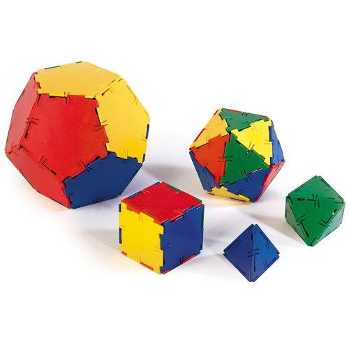 Polydron®: Platonic Solids Starter Set - Geometry