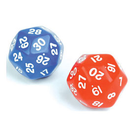 30-Sided Dice - Individual