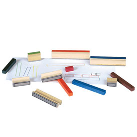 Cuisenaire® Rods: Stamps - Set of 10