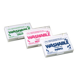 Washable Stamp Pad: Black