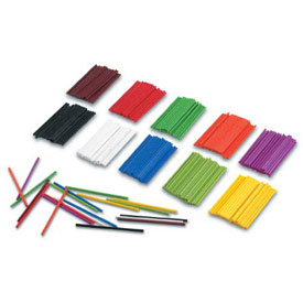 Plastic Counting Sticks - Set of 1000
