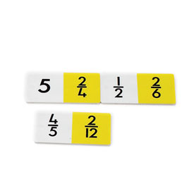 Lowest Term Fraction Dominoes