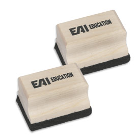 Mini Wooden Erasers - Set of 10