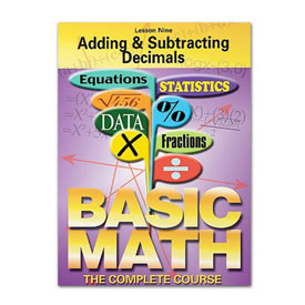 Basic Math: Adding & Subtracting Decimals - VHS