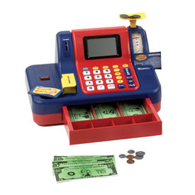 Pretend & Play® Teaching Cash Register