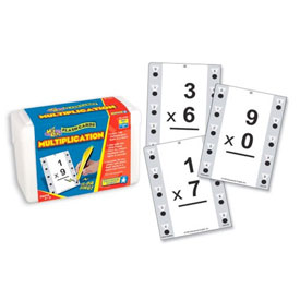 Hot Dots® Flash Cards: Multiplication 0-9