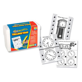 Hot Dots® Flash Cards: Telling Time