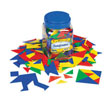 Tangrams - Set of 150 in Tub