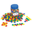 Color Tiles: Plastic - Set of 400