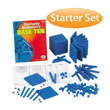 Base Ten Starter Set: Blue Plastic in Tub