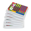 Cuisenaire® Rods: Wood: Multi-Pack - 6 Sets of 74